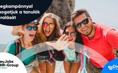 Előlegkampánnyal támogatja a tanulók nyaralását az euDiákok