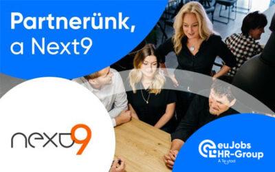 A Next9 lett az euJobs HR-Group PR-ügynöksége
